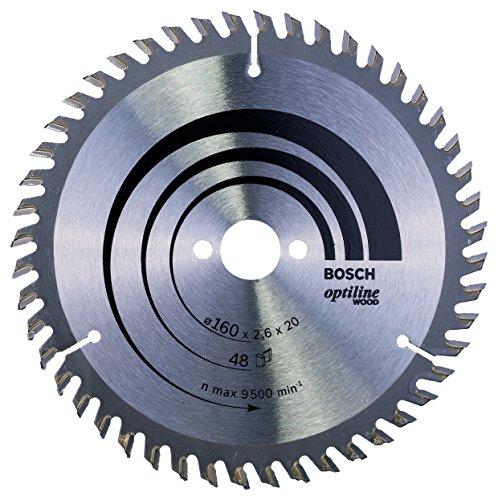 Bosch-Pro-Kreissgeblatt-Optiline-Wood-zum-Sgen-in-Holz-fr-Handkreissgen--160-mm
