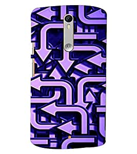 PRINTVISA Abstract Arrow Pattern Case Cover for Motorola Moto X Style