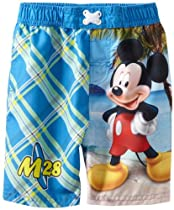 Disney Mickey Mouse Toddler Boys Swim Trunks (4T)