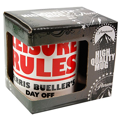 Ferris Bueller's Day Off - Leisure Rules Gift Boxed Mug 80