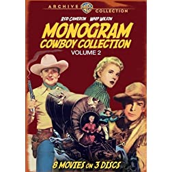 Monogram Cowboy Collection Volume 2 (3 Discs)