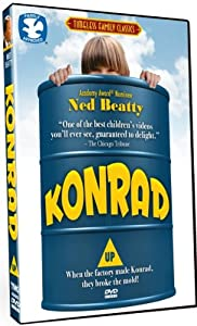 Konrad starring Ned Beatty, Polly Holliday, Huckleberry Fox! Dove Family Approved!