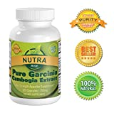 Pure Garcinia Cambogia Extract - Natural Appetite Suppressant and Weight Loss Supplement, 100% Pure 60% HCA, 750mg per serving, The Revolutionary Fat Buster as seen on TV - Also Blocks Fat Production, Reduces Belly Fat, 3000mg per day - Third Party Lab Tested For Purity and Product Integrity - Money Back Guarantee (750mg 120 Capsules)