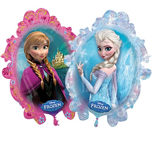 "Disney Frozen Anna Elsa 38"" Balloon Birthday Party Decoration Princess front-845756"