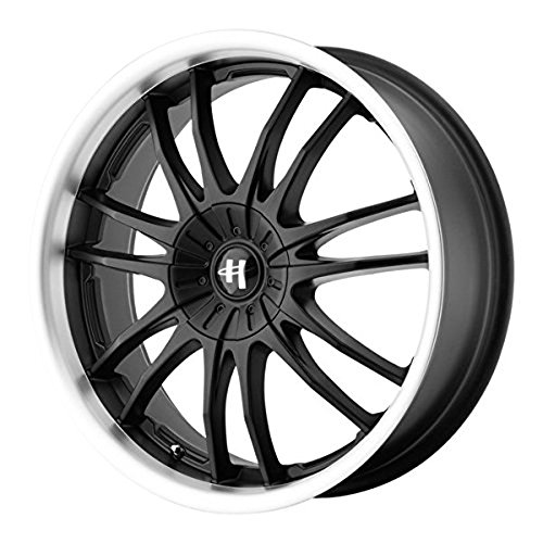 Helo HE845 Gloss Black Wheel With Machined Face (17x7.5