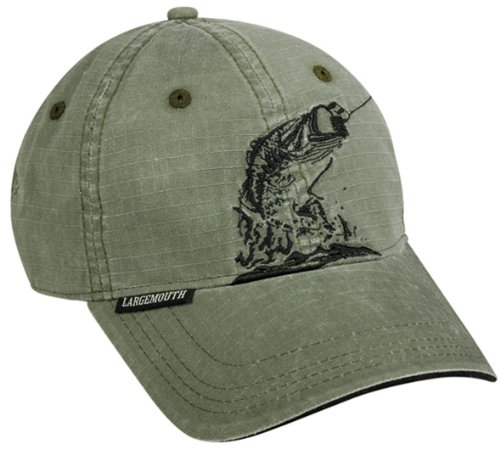 Large Mouth Bass Quick Cool Fishing Hat