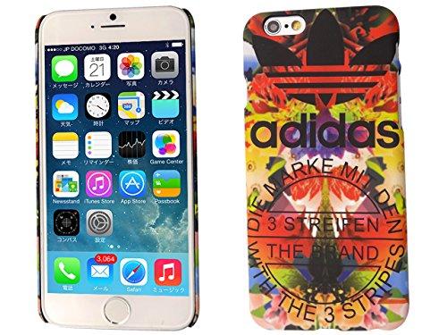 【 adidas 】 iPhone6用ケース(4.7インチ) アディダス Colorful Flower デザイン ad-002
