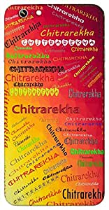 Chitrarekha (Popular Girl Name) Name & Sign Printed All over customize & Personalized!! Protective back cover for your Smart Phone : Moto X-STYLE