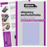 2 X Dipos Crystalclear Displayschutzfolie fr Apple das neue iPad 4 + iPad 3 + iPad 2von &#34;Dipos&#34;