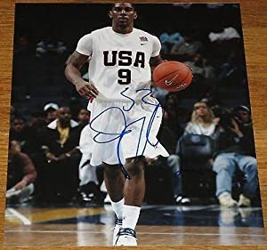 Signed O.J. Mayo Photo - 8x10 Dallas Mavericks Usc Coa E - Autographed College Photos by Sports Memorabilia