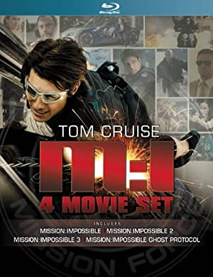 【Amazon.co.jp限定】ミッション:インポッシブル シリーズ クアドロジーブルーレイBOX(数量限定) [Blu-ray]