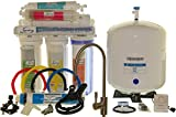 iSpring RCC7AK - Newly Upgraded US Legendary 75GPD 6-Stage Reverse Osmosis Water Filter System with Alkaline PH+ Mineral Stage and Brushed Nickel Faucet