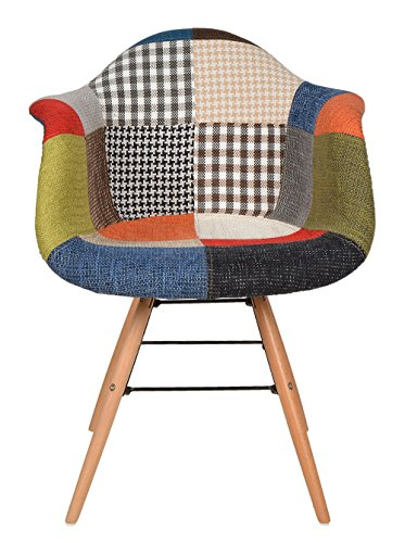 Best Offer Ts Ideen Design Chair Armchair 50s Retro Patchwork