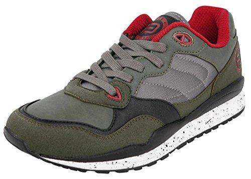 R.E.D. by EMP Camo Cut-Out Sneaker Scarpe sportive verde EU41