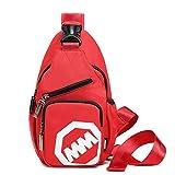 YiYiNoe ボディバッグ メンズ レディース ユニセックス ボディ ショルダー バック 鞄 カバン 斜め掛け おしゃれ 人気 ワンショルダーバッグ かわいい 小型 カジュアル バッグ