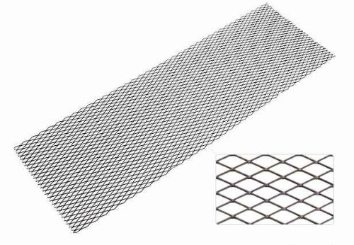 TA-TECHNIX EVORG5 Renngitter Material: Aluminium (AL3030) Loch durchmesser: 8 x 16 mm, Abmaße : 135 x 30, Gewicht: 250 g, Schwarz/Beschichtet