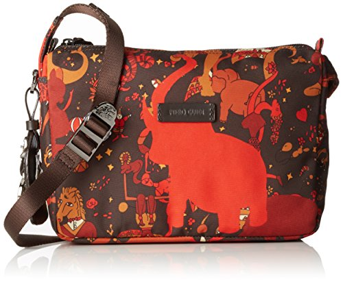 Piero Guidi Magic Circus Camouflage Borsa a Tracolla, 24 cm, Wild