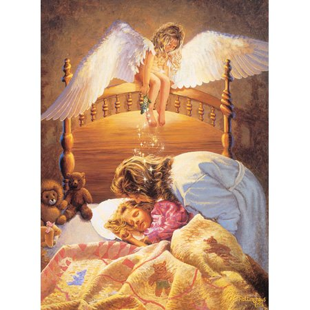Kissing Angel Jigsaw Puzzle 500pc - 1