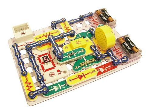 Snap Circuits PRO SC-500 Electronics Discovery Kit with Computer Interface & 73 Additional Experiments