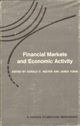 Financial Markets and Economic Activity