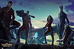 1 X Guardians Of The Galaxy - Movie Poster (The Guardians) (Size: 36\