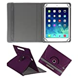 ACM ROTATING 360° LEATHER FLIP CASE FOR APPLE IPAD MINI 3 TABLET STAND COVER HOLDER PURPLE