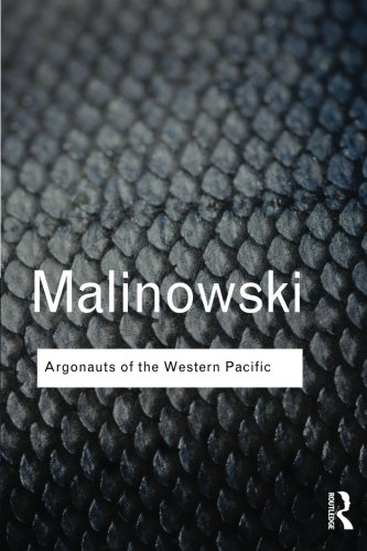 argonauts of the western pacific by bronislaw malinowski essay His best known works include his classic book argonauts of the western pacific who was bronislaw malinowski this bronislaw malinowski essay for.
