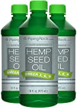Hemp Seed Oil (Cold Pressed) 3 x 16 fl oz Liquid