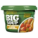 Heinz Roast Chicken and Herb Dumplings Big Soup 430 g (Pack of 6)
