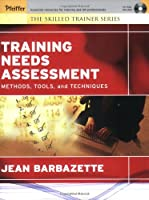 Training Needs Assessment: Methods, Tools, and Techniques (Skilled Trainer)