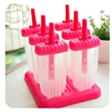 Tovolo Star Pop Molds, Pink - Set of 6 (PINK, 2)