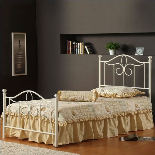 Twin Canopy Bed Frame 4718 front