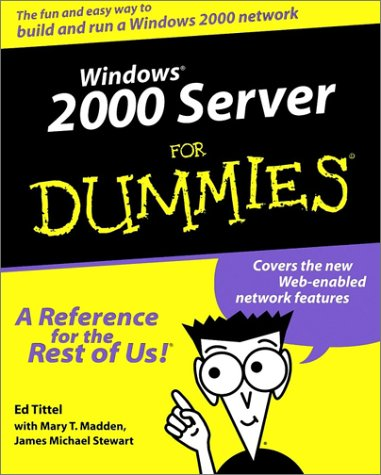 Windows 2000 Server For Dummies