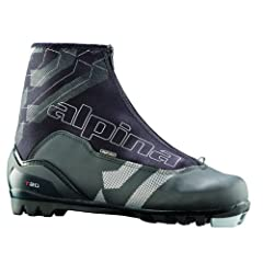 Buy Alpina T20 Cross-Country Nordic Touring Ski Boots with Zippered Lace Cover by Alpina