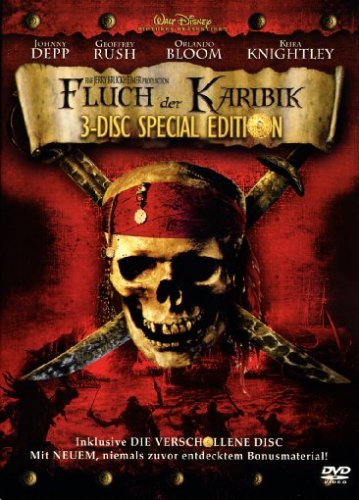 Fluch der Karibik (3 DVDs, exklusiv bei Amazon) [Special Edition]