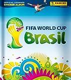 Panini FIFA World Cup Brasil 2014 - Sammelsticker - Album + 20 Tüten