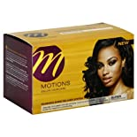 Motions Salon Haircare Relaxer System, Silkening Shine, No-Lye, Super