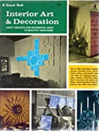 Interior Art & Decoration (A Sunset Book) by…