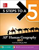 img - for 5 Steps to a 5: AP Human Geography 2017 by Carol Ann Gillespie (2016-07-28) book / textbook / text book