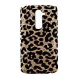 Xhorizon Variety Bling Shiny Deluxe Leopard Back Case Cover For LG G2 Bow/Crown/Moustache/Golden Silver Cross Tower/Rhinestone/Owl/3D Leopard/Platy Skull