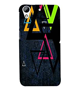 PRINTSWAG TRIANGLE PATTERN Designer Back Cover Case for HTC DESIRE 626