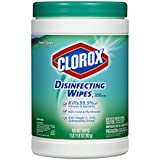 Clorox Disinfecting Wipes, Fresh Scent, 105 Count Canister (Pack of 4)