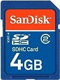 SanDisk SDHCカード 4GB スリムパッケージ SDSDB-4096-J95