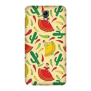 Super Cases Back Cover For Samsung Galaxy Note 3 Neo/Lite (Multicolor)