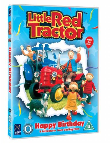 The Little Red Tractor Happy Birthday [Import anglais]