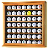 """49 Golf Ball Display Case Cabinet Rack Stand Holder w/ UV Protection -Oak Finish (Misc.)By sfDisplay        Buy new: $69.99    Customer Rating:     First tagged """"golf ball"""" by Sam """"Sam"""""""