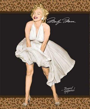 Marilyn Monroe Bedding Queen-Size Blanket front-171210