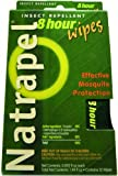 Natrapel, 8 Hour DEET-Free Wipes