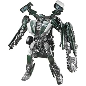 Hasbro Transformers Dark of the Moon Mechtech Deluxe Roadbuster - Robot transformable en vehículo de juguete