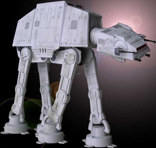 Star Wars Return of the Jedi AT-AT Commemorative Edition Scale Model Kit (At At Model compare prices)